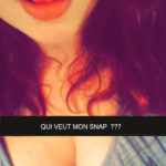 Fille nu snapchat coquin